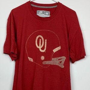 Nike Oklahoma Sooners Shirt Old School Helmet